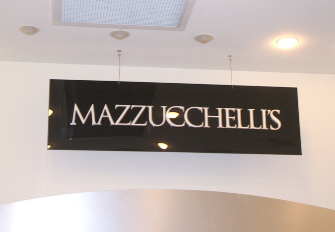 Mazzucchellis Reception Sign